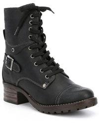 Taos Footwear Crave Booties Lyst