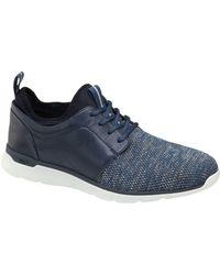 Johnston & Murphy Men's Xc4 Prentiss Waterproof Plain Toe Sneakers - Blue