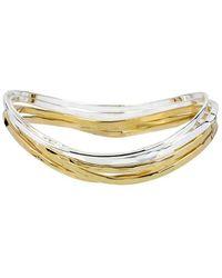 Robert Lee Morris - Two-tone Bangle Bracelet, Set Of 5 - Lyst