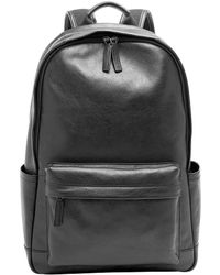 Fossil - Buckner Leather Laptop Backpack - Lyst