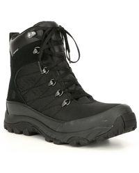 The North Face Men's Chilkat Nylon Waterproof Winter Boots - Black