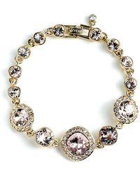Givenchy - Crystal Line Bracelet - Lyst