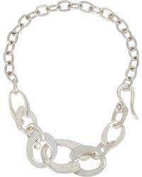 Robert Lee Morris - Sculptural Link Necklace - Lyst