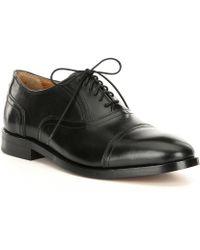 47bd6a0da Cole Haan - American Classics Men s Kneeland Cap Toe Leather Oxford - Lyst