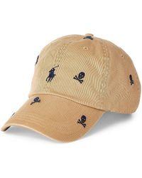 3eb361e0 Polo Ralph Lauren Classic Skull Cap in Black for Men - Lyst