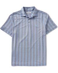 Tommy Bahama - Chevron Cantina Short-sleeve Polo Shirt - Lyst