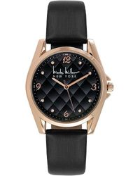 Nicole Miller | Cushion-dial Analog Watch | Lyst