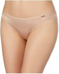 Le Mystere Infinite Comfort Bikini Panty - Natural