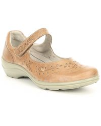 Romika Cassie 54 Leather Mary Janes - Natural