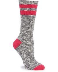 Sorel - Women's Cotton Varsity Stripe Socks - Lyst