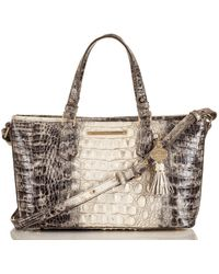 Brahmin Asher Veranda Leather Crossbody Bag - Multicolour