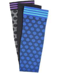 Comfortiva - Compression Polka Dot Socks 3-pack - Lyst