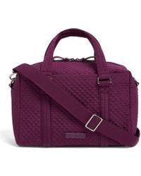 73fb33cb87 Vera Bradley - Iconic Solid 100 Satchel Handbag - Lyst