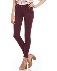 Celebrity Pink - Basic Ankle Skinny Pants - Lyst