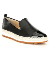 Paul Green Posh Leather Loafer - Black