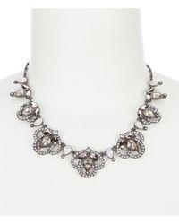 Jenny Packham - Frontal Necklace - Lyst