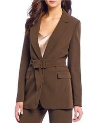 Gianni Bini - Monica Single Breast Notch Lapel Long Sleeve Jacket - Lyst