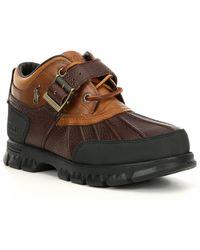 Polo Ralph Lauren Dover Iii Leather Boot - Brown