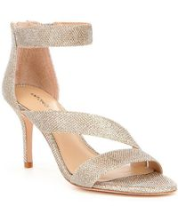 Antonio Melani | Jaydyn Banded Glitter Ankle Strap Dress Sandals | Lyst