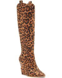 Jessica Simpson - Harvie Wedge Boot - Lyst