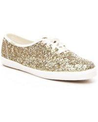 Kate Spade - Keds X Glitter Keds Sneakers - Lyst