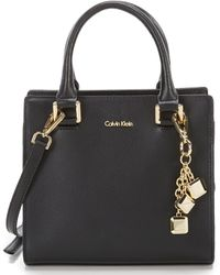 Calvin Klein - Logan Mini Cross-body Bag - Lyst