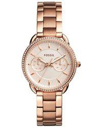 Fossil - Tailor Multifunction Bracelet Watch - Lyst