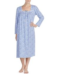 Eileen West - Printed Jersey Ballet Nightgown - Lyst