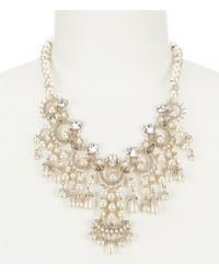 Marchesa Drama Collar Necklace - Metallic