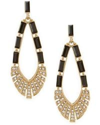Belle By Badgley Mischka - Monarch Drop Earrings - Lyst