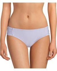 13311adba09b3 Antonio Melani - Solid Wisteria Tab Side Classic Swimsuit Bottom - Lyst