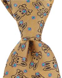 "Psycho Bunny - Dot Neat Traditional 3.25"" Silk Tie - Lyst"