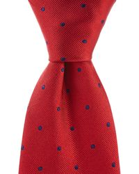 """Brooks Brothers - Dot Traditional 3.25"""" Silk Tie - Lyst"""