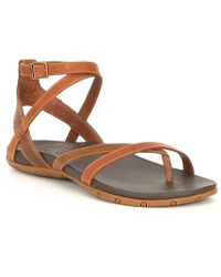 a8c05ae63970 Chaco - Juniper Leather Sandals - Lyst
