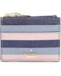 Kate Spade - Owen Lane Lalena Glitter Card Case - Lyst