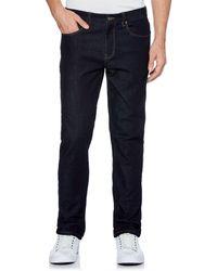 Perry Ellis - Big & Tall Slim-fit Dark Indigo Stretch Denim Jeans - Lyst