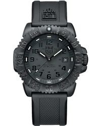 Luminox - Blackout Navy Seal Colormark Watch - Lyst