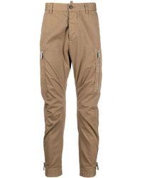 DSquared² - Pantaloni Con Tasche Zip - Lyst