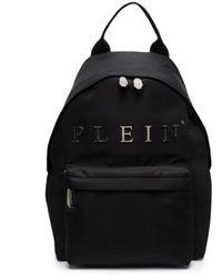 Philipp Plein Logo-plaque Backpack - Black