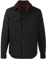 Woolrich Down Padded Shirt Jacket - Black