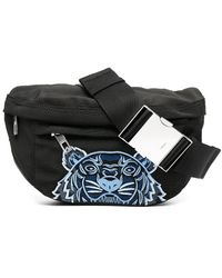 KENZO - Tiger Embroidery Belt Bag - Lyst