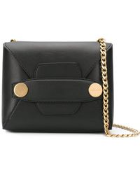 Stella McCartney Popper Bag - Black