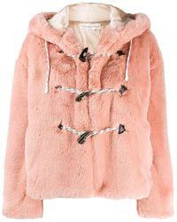 Golden Goose Pink Wool Outerwear Jacket