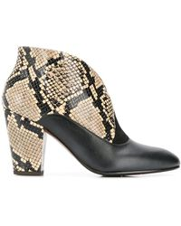 Chie Mihara - Elgi Snake Ankle Boots - Lyst