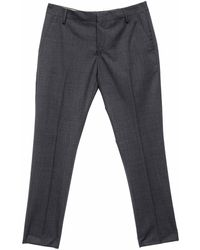 Entre Amis Classic Model Trousers - Grey