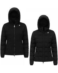 K-Way Lily Thermo Stretch Double Jacket - Black