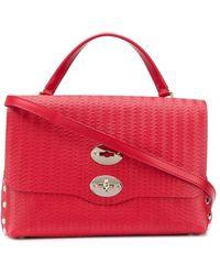 Zanellato Small Cachemire Blandine Postina Bag - Red