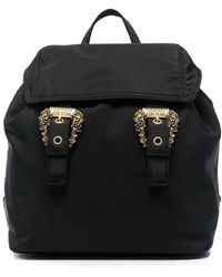 Versace Jeans Couture Double-buckle Backpack - Black