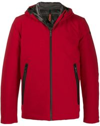 Rrd Storm Hooded Padded Jacket - Red