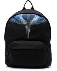 Marcelo Burlon Cmnb006f21fab0011045 Polyester Backpack - Black